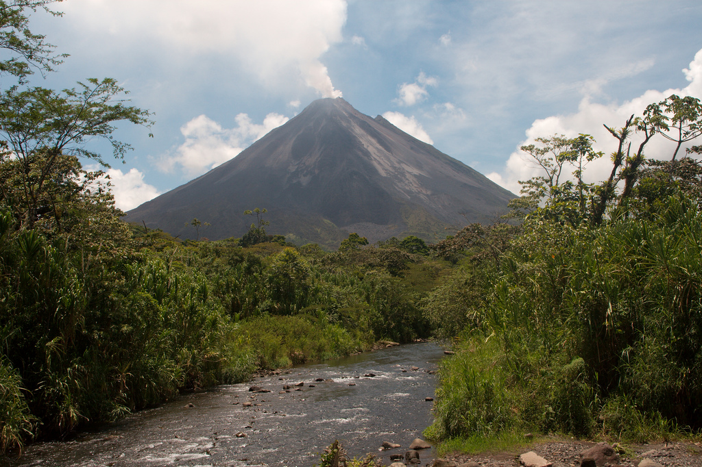 check out this amazing arenal volcano in costa rica  photos