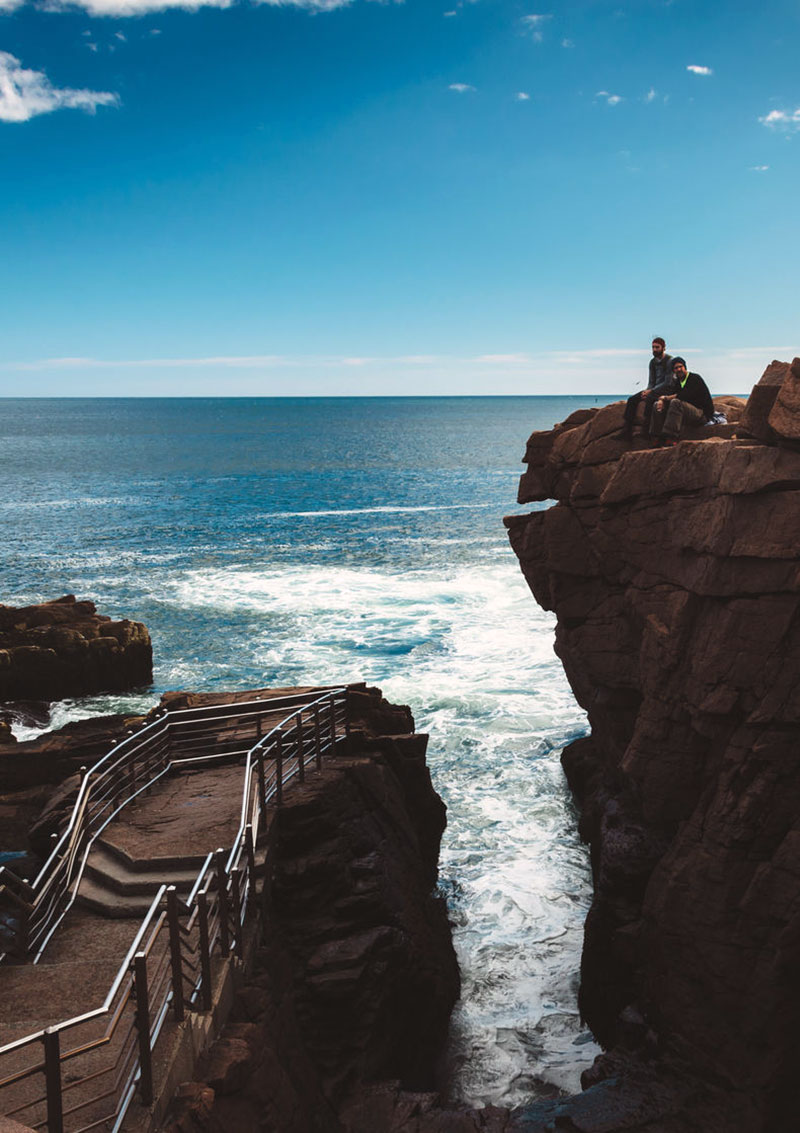 10 best outdoor activities in acadia national park for Thunder hole acadia