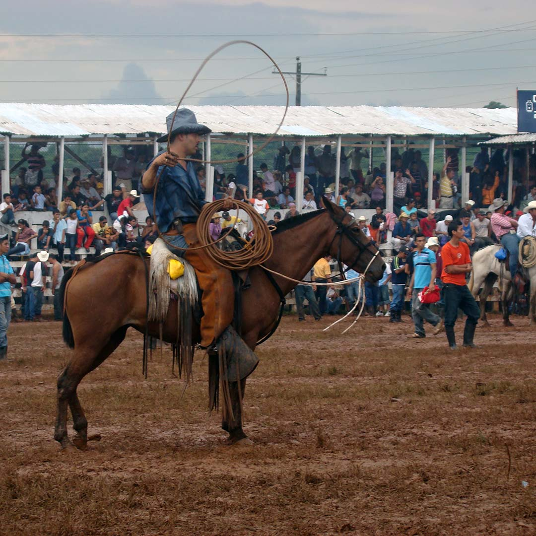 Check out a rodeo during Juigalpa's fiestas patronales.